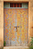 Old arabic door — Stock Photo