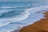 Atlantische oceaan strand — Stockfoto