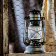 Old oil lamp — Stock Photo