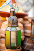 Decorative lantern — Stock Photo