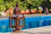 Gammal rustik lampa — Stockfoto