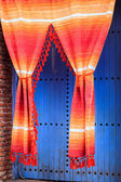 Colorful curtains — Stock Photo