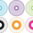 Vector de stock : Colored circles