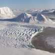 Stock Photo: Antarctic glacier landscape