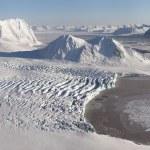 Antarktische Gletscher Landschaft — Stockfoto