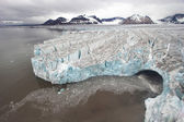 Antarctic glacier landscape — Stock Photo