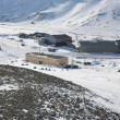Stock Photo: The Arctic city of Longyearbyen