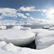 Stock Photo: Arctic glacier landscape