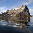 Arctic landscape (Spitsbergen) — Stock Photo