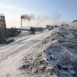 Barentsburg - Russian city in the Arctic — Stock Photo #14689001