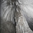 Stock Photo: Glacier icicles