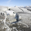 Stock Photo: Glacier melting - Spitsbergen, Svalbard