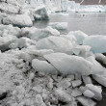 Arctic glaciers — Stock Photo