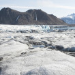 Stock Photo: Arctic landscape with glaciers and mountains