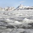 Stock Photo: Melting glacier - Arctic, Svalbard