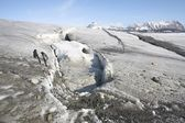 Glacier melting - Spitsbergen, Svalbard — Stock Photo