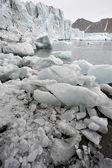 Arctische gletsjers — Stockfoto