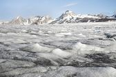 Melting glacier - Arctic, Svalbard — Stock Photo