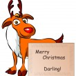Rudolph deer - Stock Vector