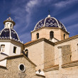 Stockfoto: Church of Altein Alicante.