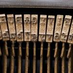 Antique typewriter. — Stock Photo