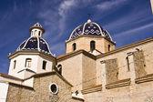Church of Altea in Alicante. — Stock Photo