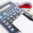 Investing in buying car. — Stock Photo #30265119