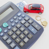 Investing in buying a car. — Stock Photo