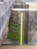 Medición de nivel de agua — Foto de Stock