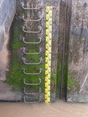 Water level measurement — Stock Photo