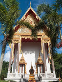 Ubosot of Wat Lamip Temple in Trat, Thailand — Stock Photo