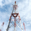Telecommunication towers — Stock Photo