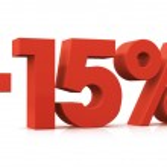 Percentage -15 — Stock Photo #14350513