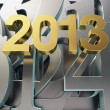 Golden year 2013 — Foto de Stock
