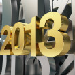 Golden year 2013 — Stock Photo #14351619