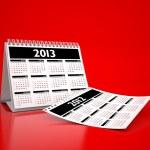 カレンダー 2013 年 — ストック写真