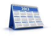 календарь 2013 — Стоковое фото