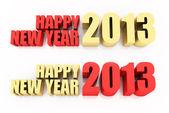 Feliz ano novo 2013 — Fotografia Stock