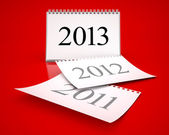 Calendario 2013 — Foto Stock