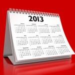 Calendar 2013 — Stock Photo #14761363