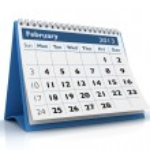 February 2013 Calendar — Stock Photo #17443691