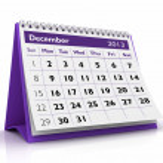December 2013 Calendar — Stock Photo #17444005