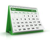 May 2013 Calendar — Stock Photo
