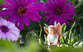 Fairy on vegetation — Stock Photo
