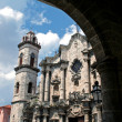 Old Havana church — Stock Photo