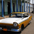 Old cuban car — Stock Photo #14319357