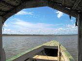 Amazonka, żeglarstwo — Zdjęcie stockowe