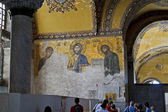 Jesus Christ mosaic at Hagia Sophia — Stock Photo
