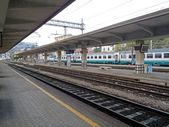 Estação de comboios — Fotografia Stock