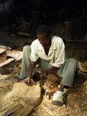 Wood worker — Stock Photo